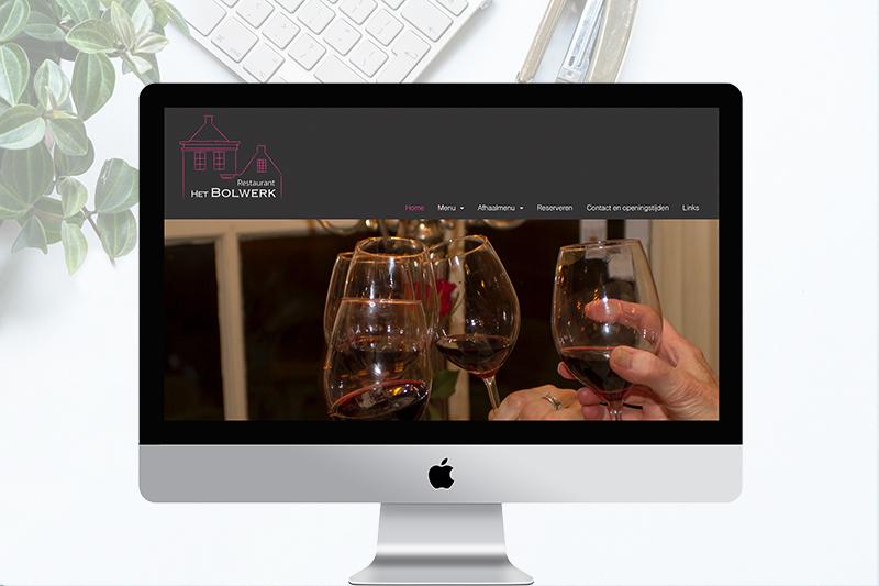 project website restaurant het bolwerk Sloten