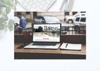 webdesign voor Bare.