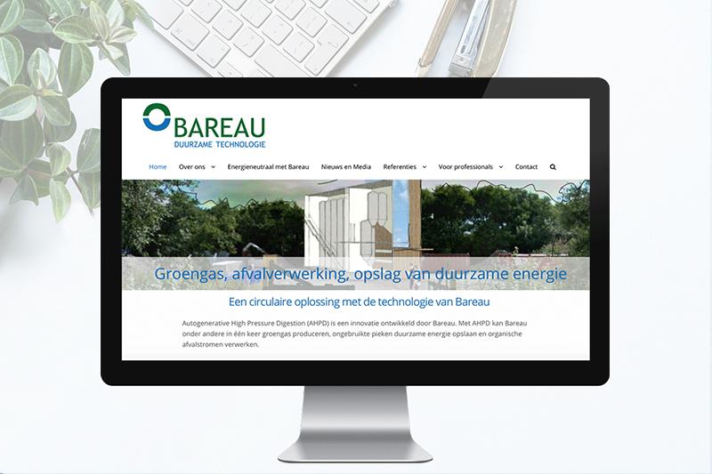 Website voor Bareau BV
