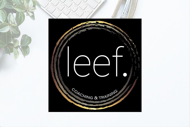 Logo voor LEEF Coaching