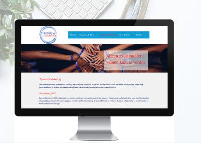 """Nieuwe website voor """"Met Helene"""""""
