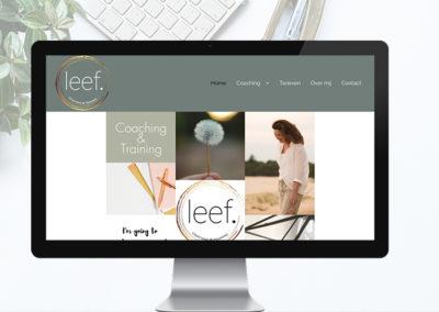 Nieuwe website voor leefcoaching