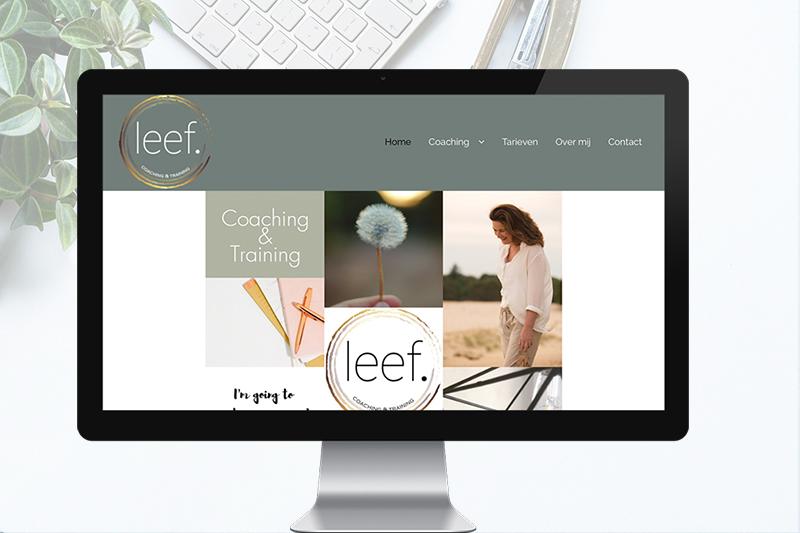 project website LEEF Coaching