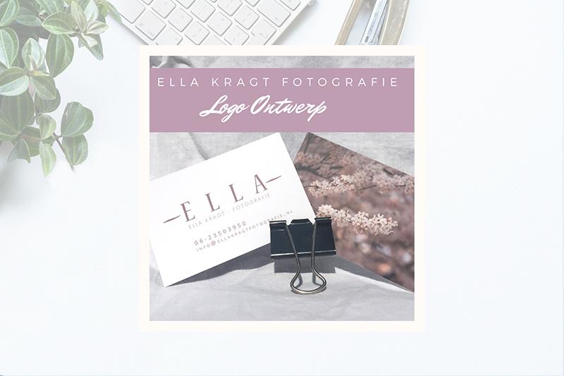 Nieuw logo voor Ella Kragt Fotografie